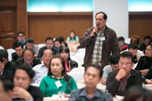 โครงการประชาสัมพันธ์สัญจรและฝึกอบรมด้านการบริหารจัดการองค์กรวิชาชีพ