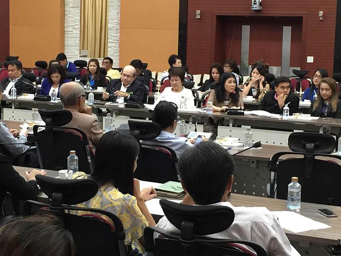 การประชุมระดมความเห็น แนวทางการทดสอบ เพื่อรับบัตรผู้ประกาศ ในกิจการกระจายเสียงและกิจการโทรทัศน์ เพื่อพัฒนาวิชาชีพของผู้ประกาศ